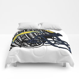 Poly Tribal Chargers Comforters