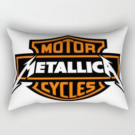 HarleyDavidsonn Metallicaa Rectangular Pillow