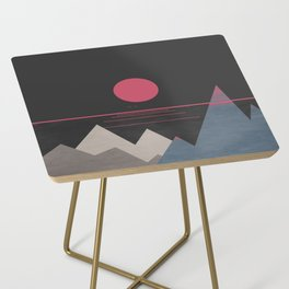 Minimal Sunset 10 Side Table
