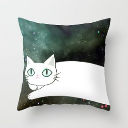 cat 587 Throw Pillow