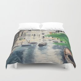 Venice digital print Duvet Cover