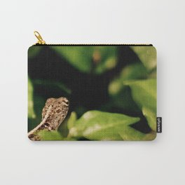 The Blurry Lizard in his Secret Garden Carry-All Pouch