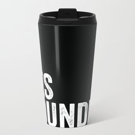 LES Foundry Metal Travel Mug