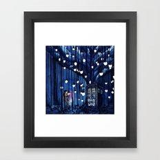 Doctor Who Journey Framed Art Print