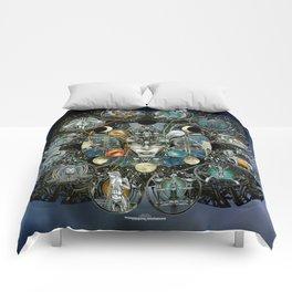 """Astrological Mechanism - Zodiac"" Comforters"