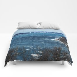Endless Blue Comforters