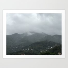 Mountain Daze Art Print
