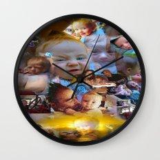 Tessa RFTW Rose remix II Wall Clock