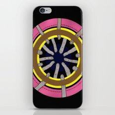 radial blame III iPhone & iPod Skin