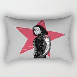 Winter S. Derek  Rectangular Pillow