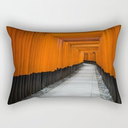 Kyoto Shrine Rectangular Pillow