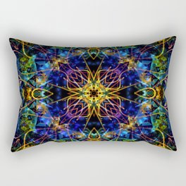 Cosmic Garden Rectangular Pillow