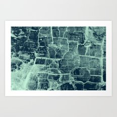 Crackle Art Print
