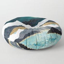 Ocean Stars Floor Pillow