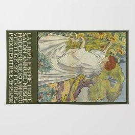 Vintage poster - La Libre Esthetique Rug