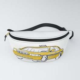 Taxi Fanny Pack
