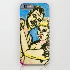 Rockabilly love iPhone 6s Slim Case
