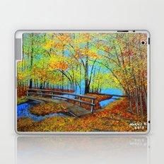Autumn landscape 4 Laptop & iPad Skin