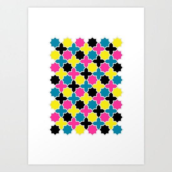 CMYK IV Art Print