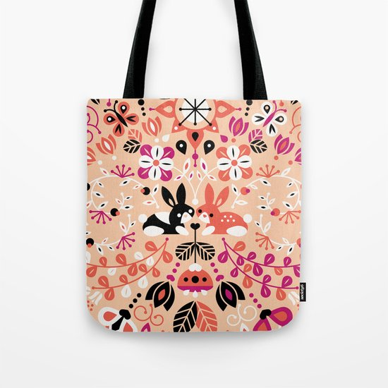 Bunny Lovers Tote Bag