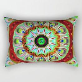 Mandala kaleidoscope Rectangular Pillow