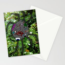 Mutated Spider Stationery Cards