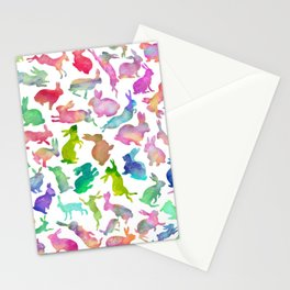Watercolour Bunnies Stationery Cards