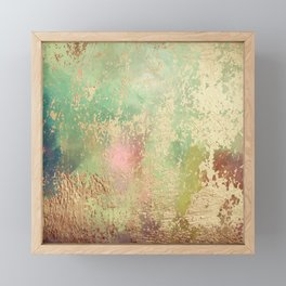 Painted Impression Foiled 01 Framed Mini Art Print