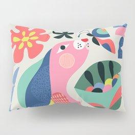 Wild rabbit Pillow Sham