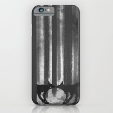 foxes in the forest iPhone 6s Slim Case