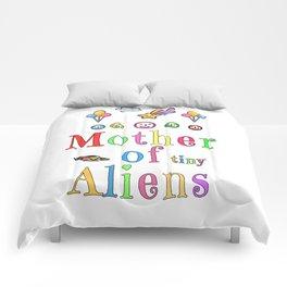 Mother Mothers Day Present Alien Children Gift Comforters