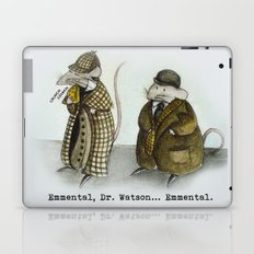 Sherlock Holmes wisdom Laptop & iPad Skin