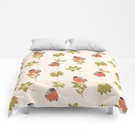 Eurasian bullfinch 2 Comforters