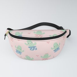 Happy cactus pattern Fanny Pack