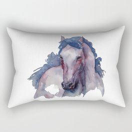 Horse #3 Rectangular Pillow
