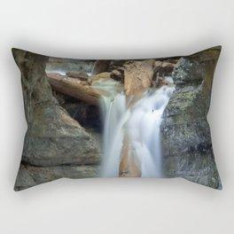 Cavern Fall Rectangular Pillow