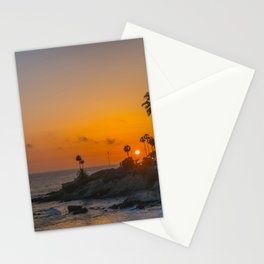 Tropical Sunset Stationery Cards