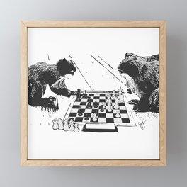 Emperor's game Framed Mini Art Print