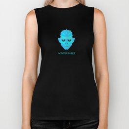 The Ice King - Winter is here Vector Poster Biker Tank
