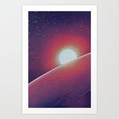 SPACE III Art Print