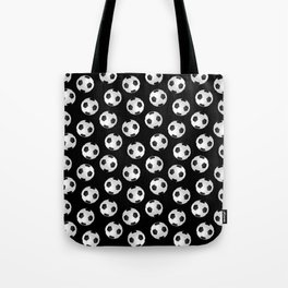 Soccer Ball Pattern-Black Tote Bag