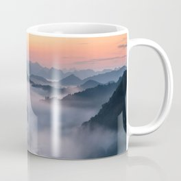Fog and Mountains Coffee Mug