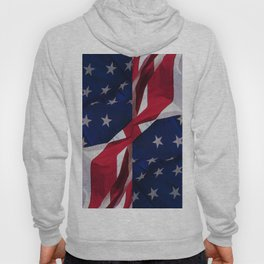 RED, WHITE AND BLUE Hoody