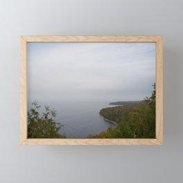 Colors on the Bay Framed Mini Art Print