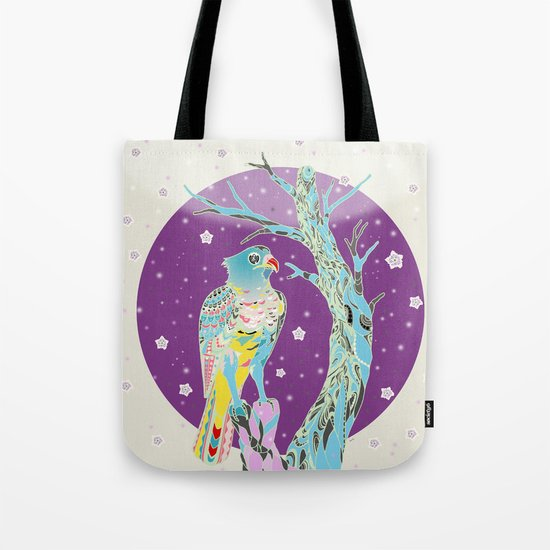 Blue Night Tote Bag