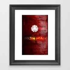 UNREAL PARTY 2012 AVENGERS IRON MAN FLYERS Framed Art Print