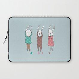 Three Wise Bunnes Laptop Sleeve