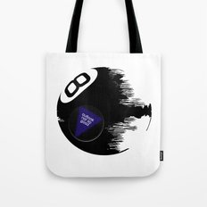 Damaged Magic 8 Ball Tote Bag