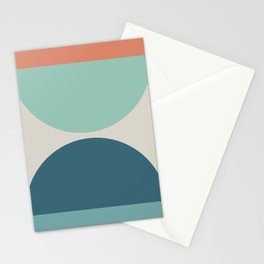 Abstract Geometric 22 Stationery Cards