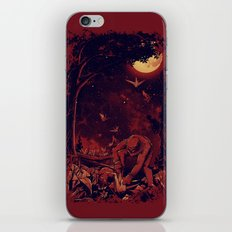 Night at the Origami Garden iPhone & iPod Skin